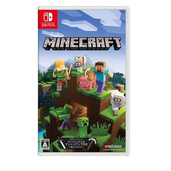 任天堂Minecraft(マインクラフト)マイクラパッケージ版NintendoSwitch(スイッチソフト)(新品) 45495
