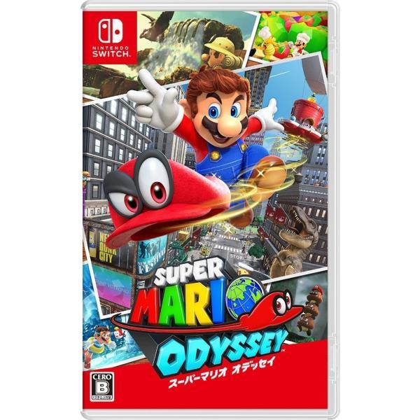 任天堂スーパーマリオオデッセイパッケージ版NintendoSwitch(スイッチソフト)(新品) 4902370537789 