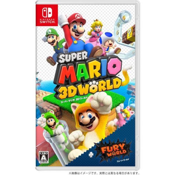 スーパーマリオ3Dワールド+フューリーワールドパッケージ版任天堂スイッチ(スイッチソフト)NintendoSwitch(新品) 