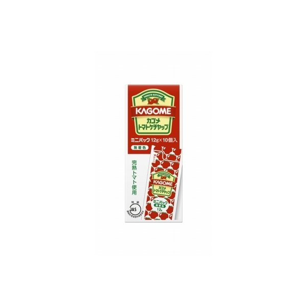 カゴメ トマトケチャップミニパック 12g×10 まとめ買い(×5)