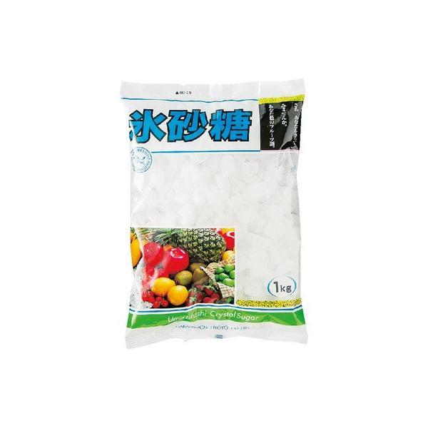 中日本氷糖 氷砂糖 クリスタル 1kg まとめ買い(×10)
