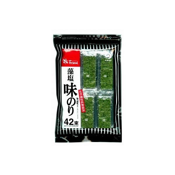 丸徳 藻塩味のり42束 12切5枚42束 まとめ買い(×12)