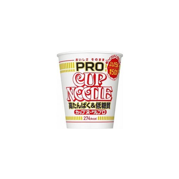 日清食品カップヌードルPRO高たんぱく&低糖質74gまとめ買い(×12)|4902105263600(tc)
