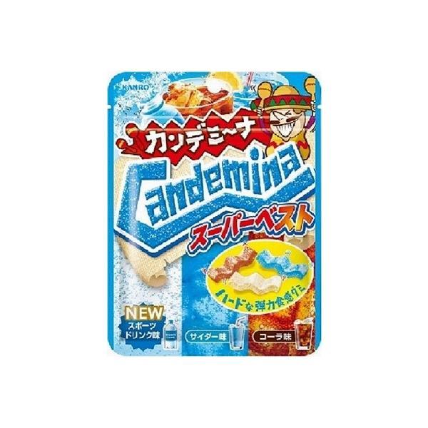カンロ カンデミーナグミスーパーベスト 72g まとめ買い(×6)