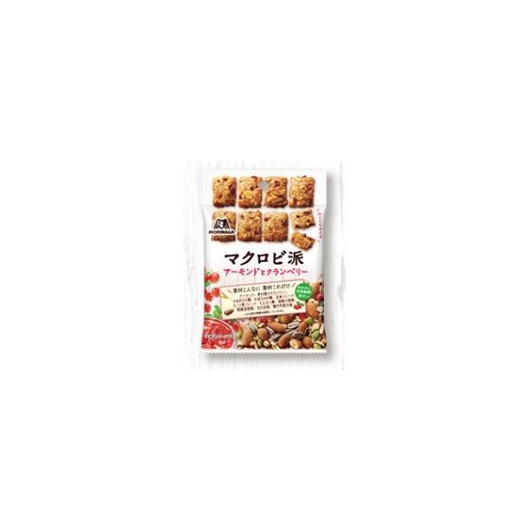 森永 マクロビ派アーモンドとクランベリー 100g まとめ買い(×5)