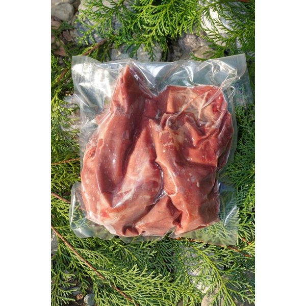 (送料込み) 鹿 モモ肉ブロック 300g ゆすはらジビエの里 高知県 梼原 ジビエ イノシシ シカ 精肉(期日指定できません)