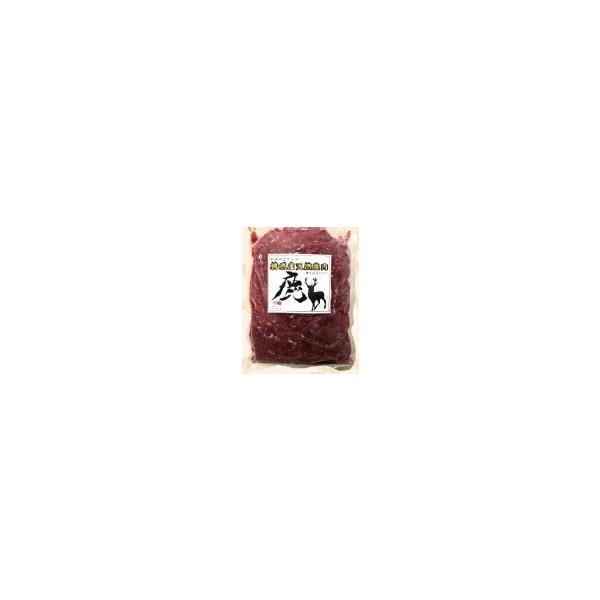 (送料込み) 鹿 ミンチ肉 500g ゆすはらジビエの里 高知県 梼原 ジビエ イノシシ シカ 精肉(期日指定できません)