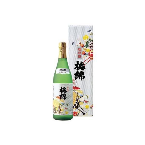 梅錦山川 梅錦 超特撰「秀逸」カートン入り 720ml |4951833001022:日本酒・焼酎(c1-tc)|the-fuji-food
