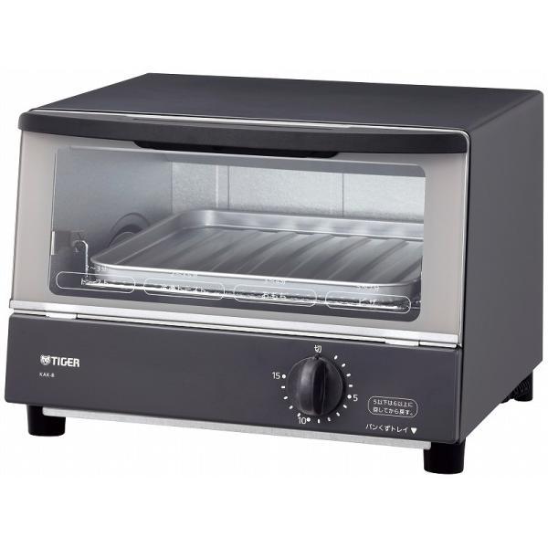 タイガー オーブントースター やきたて KAK-B100-HW ウォームグレーの画像