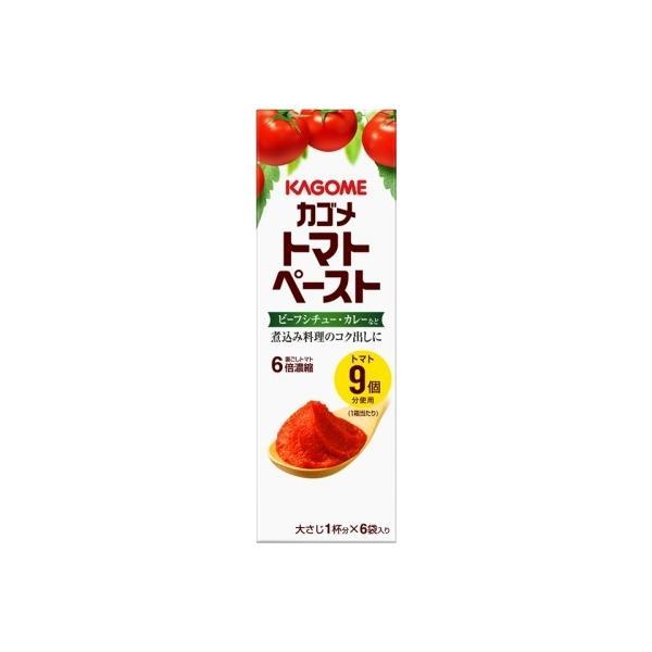 カゴメ トマトペーストミニパック 18g×6 まとめ買い(×5)