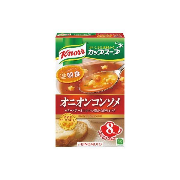 味の素 クノールカップスープ オニオンコンソメ8袋 92g まとめ買い(×6)