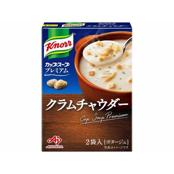 味の素 クノールカッププレミアム クラムチャウダー 40g まとめ買い(×10)
