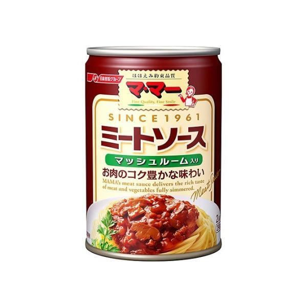 マ・マー ミートソースマッシュルーム入り 缶...