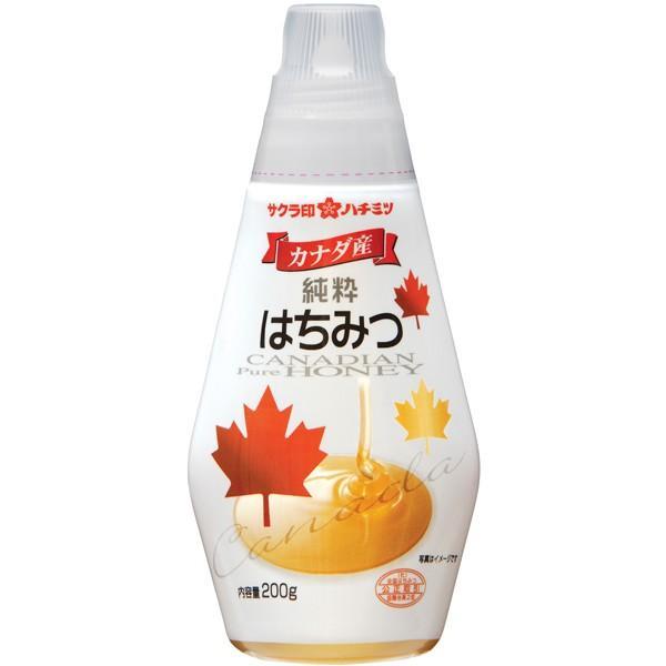 サクラ印 カナダ産純粋はちみつ 200g まとめ買い(×10)