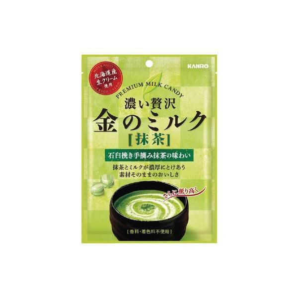 カンロ 金のミルクキャンディ抹茶 70g まとめ買い(×6)