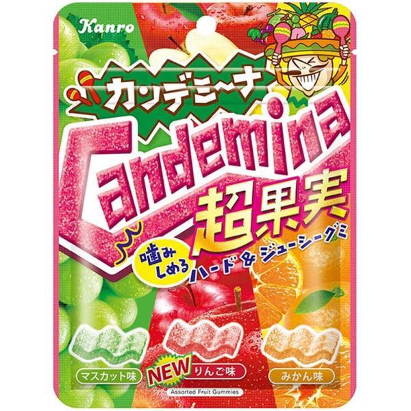 カンロ カンデミーナグミ超果実 72g まとめ買い(×6)