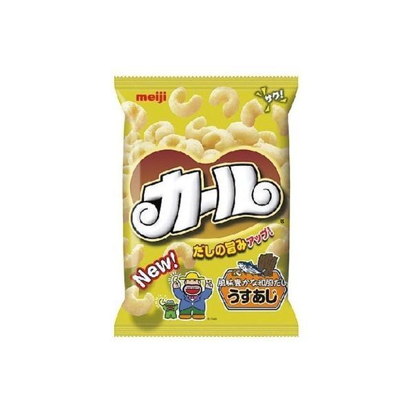 30ケース販売 明治 カールうすあじ 68g まとめ買い(×300)(cs030)