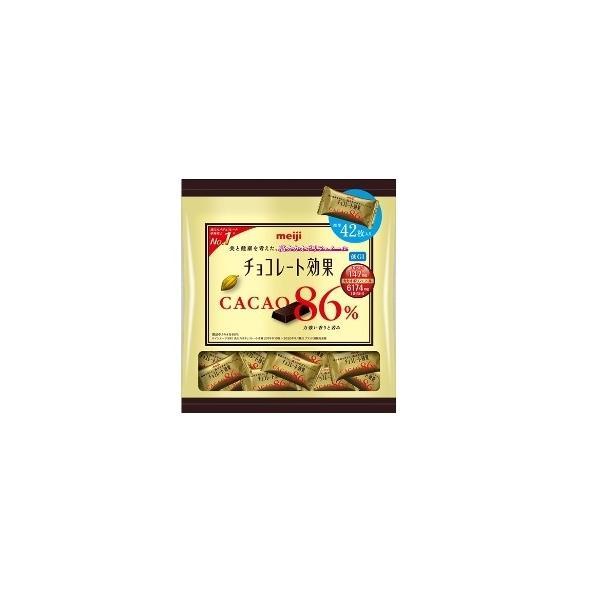 明治 チョコレート効果カカオ86%大袋 210g まとめ買い(×12)