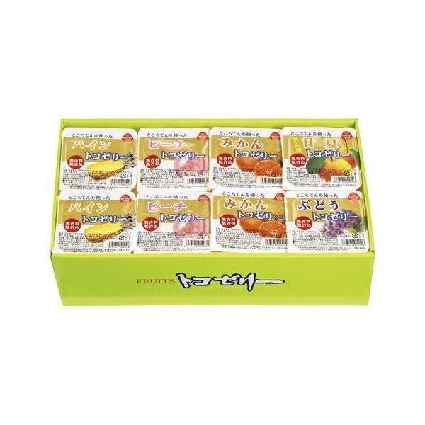 お中元 御中元 夏ギフト マルヤス食品 フルーツトコゼリーギフトセット 24個入り   ポイント5倍 送料無料 菓子 スイーツ