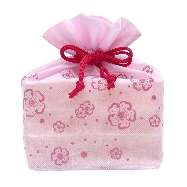 (送料込み) マルヤス トコゼリー巾着袋 6個入り 花便り(ピンク)