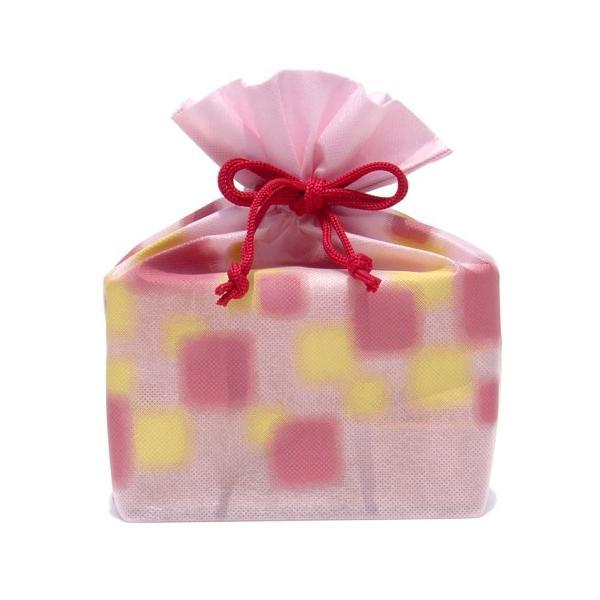 (送料込み) マルヤス トコゼリー巾着袋 6個入り ほのか(ピンク)