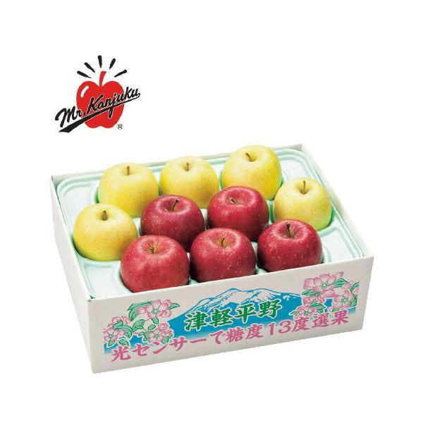 青森県産(高木商店) うまっぷるサンふじりんご&王林 5kg