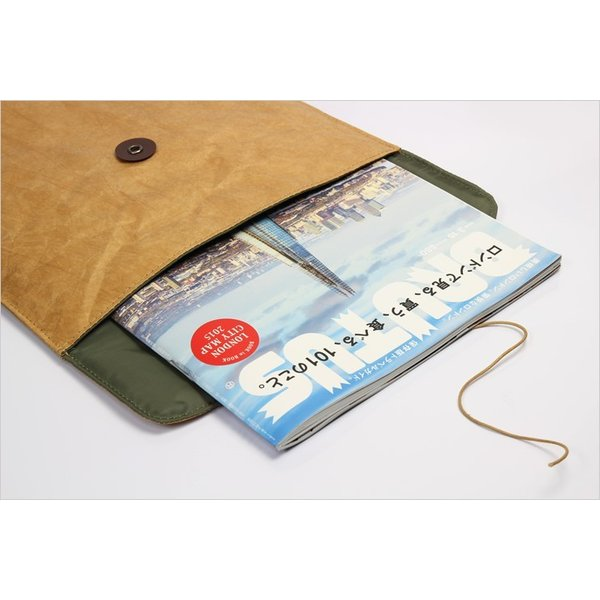 BRUSHUP STANDARD FLY BAG PAD CASE A4 iPadケース タブレットケース|the-hacienda|04