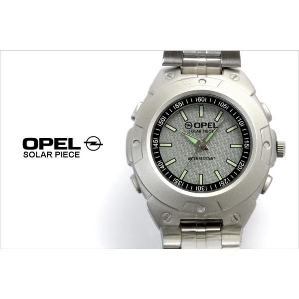 OPEL ソーラーバッテリー 腕時計 メンズ アナログ 日常生活防水 ウォッチ|the-hacienda