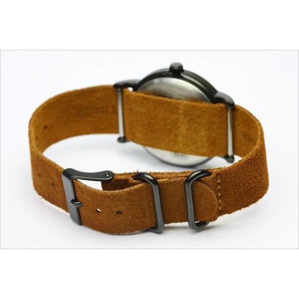 TIMEX T2P352 タイメックス 腕時計 ウィークエンダー 限定モデル ネイビー×ブラウン スエードベルト|the-hacienda|03