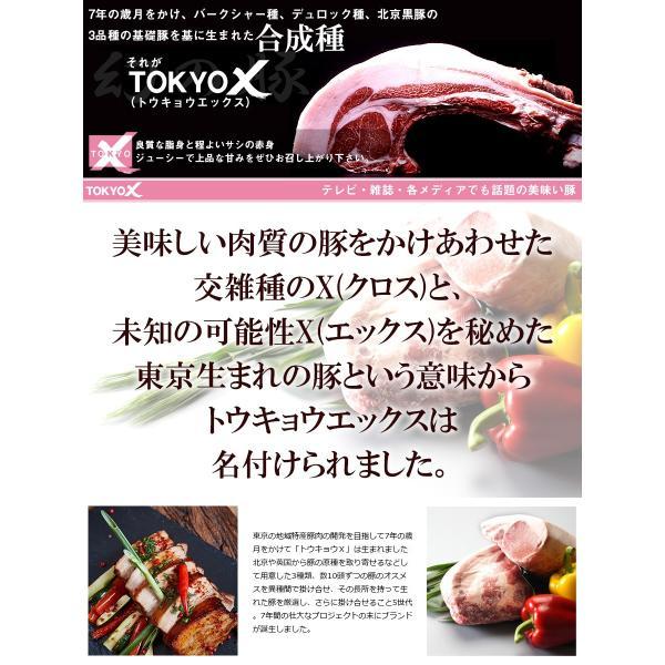 送料無料 TOKYO X 焼肉セット 600g 幻の豚肉 東京X トウキョウエックス 豚肉 肩ロース バラ肉 モモ肉 切り落とし 更におまけに100g 焼肉 贈り物 the-nikuya 07