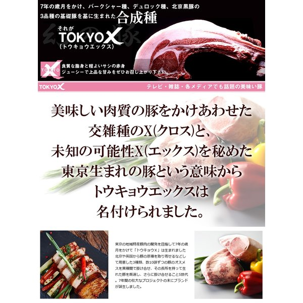 送料無料 TOKYO X しゃぶしゃぶセット 600g  豚肉 ロース・もも肉・豚バラ・切り落とし など お中元 父の日 the-nikuya 07