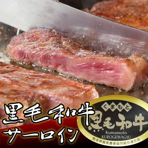 黒毛和牛 サーロイン (230g) 【贈り物/プレゼント/父の日/母の日 牛肉 サーロイン ステーキ】|the-nikuya