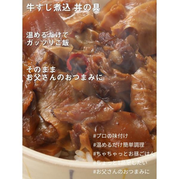 牛すじ煮込 丼の具 3食|the-nikuya|02