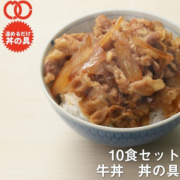 お中元 牛丼の具 100g×10食 特価 業務用 牛肉
