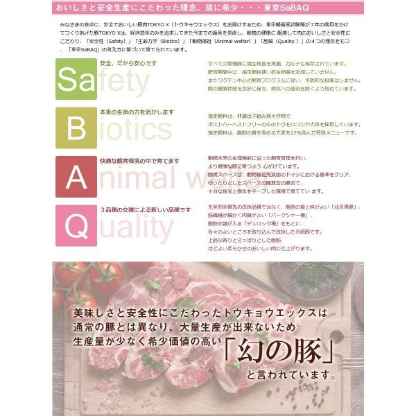 送料無料 TOKYO X 食べつくしセット 1.6kg 幻の豚肉 東京X トウキョウエックス 豚肉 肩ロース バラ肉 モモ肉 切り落とし 更におまけに200g|the-nikuya|12