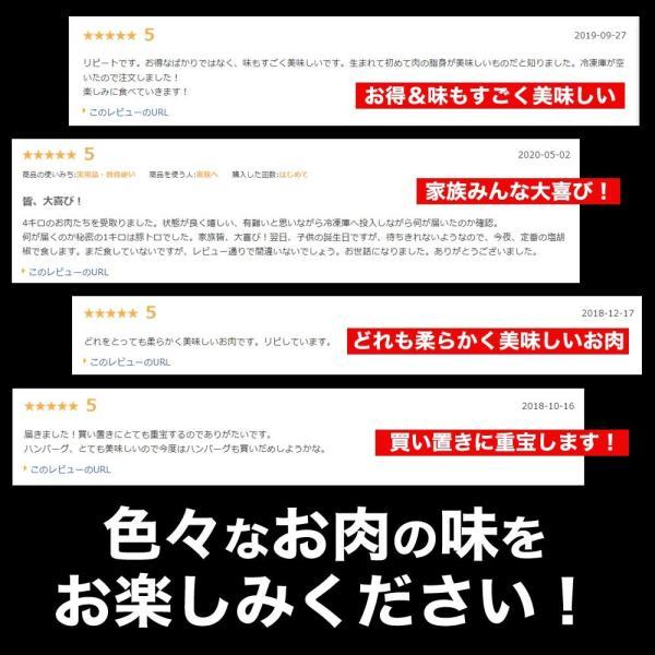 訳あり 送料無料 はしっこ 福袋 Aセット 6種 4kg超え・ハラミ・カルビ・ハンバーグパテ・豚トロど おまけにはしっこお肉がさらに500g|the-nikuya|09