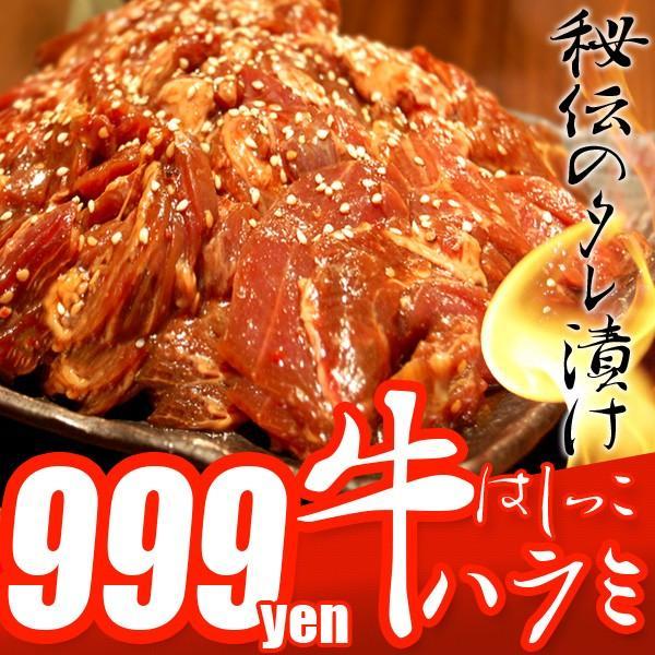 はしっこ タレ漬け牛 ハラミ 500g 訳あり 業務用 端っこ はじっこ 焼肉 500g BBQ バーベキュー|the-nikuya