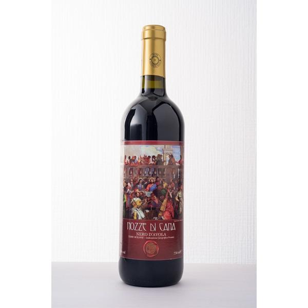 「カナの婚礼」イタリア シチリア島産 赤ワイン 2013年 6本数量限定 再入荷なし|the-sacred-wine