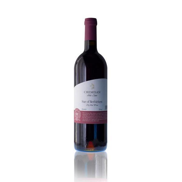 「ベツレヘムの星」パレスチナ自治区産 赤ワイン 2017年(オーガニック)|the-sacred-wine