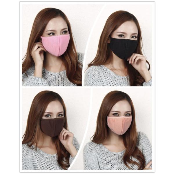 活性炭入り三層 黒マスク竹炭 ピンク 花粉 布マスク ブラック マスクファッション 風邪 ウィルス 予防 だてマスク セール|thebest|02