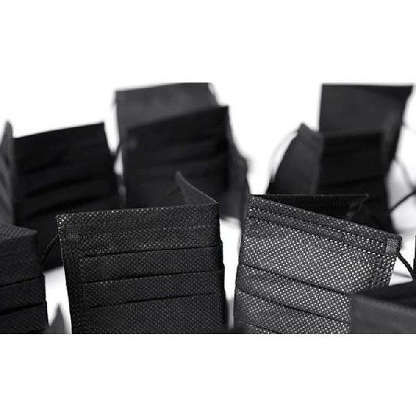 まとめ割  メール便対応  3枚入り 使い捨て活性炭入り三層 黒マスク竹炭  花粉 ブラック マスク クロ韓国 ファッション|thebest|04