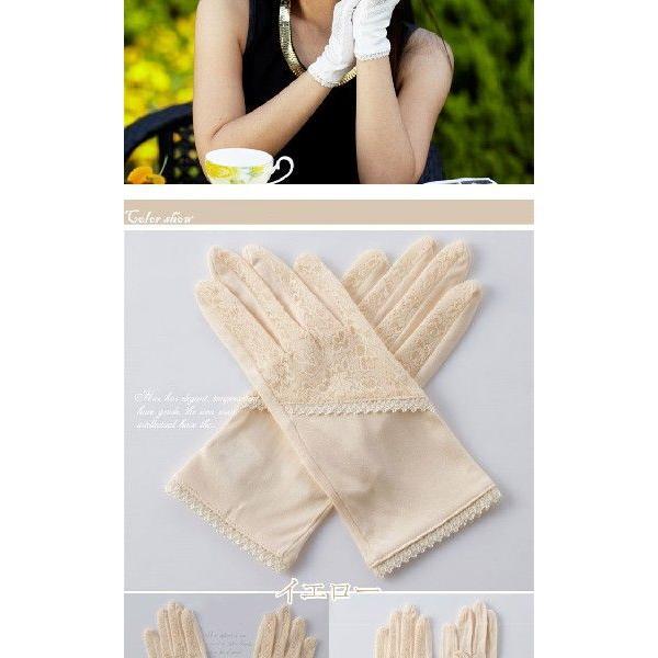 シルク100%手袋 日除けテブクロ 紫外線防止 手湿疹や手荒れに最適なシルク手袋 セール|thebest|03