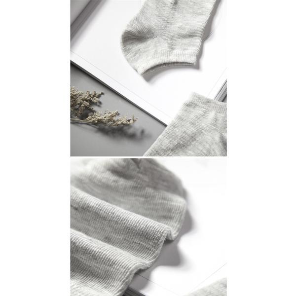 靴下 ソックス レディース メンズ 靴下  福袋 10足セット 男女兼用 アンクル カバー クルー おしゃれ かわいい お得 綿 セール thebest 08