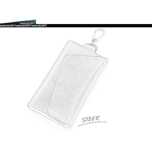 車キーケース キーケース牛革 高級感抜群  キーホルダー メンズ ユニセックス 6連キーケース|thebest|02
