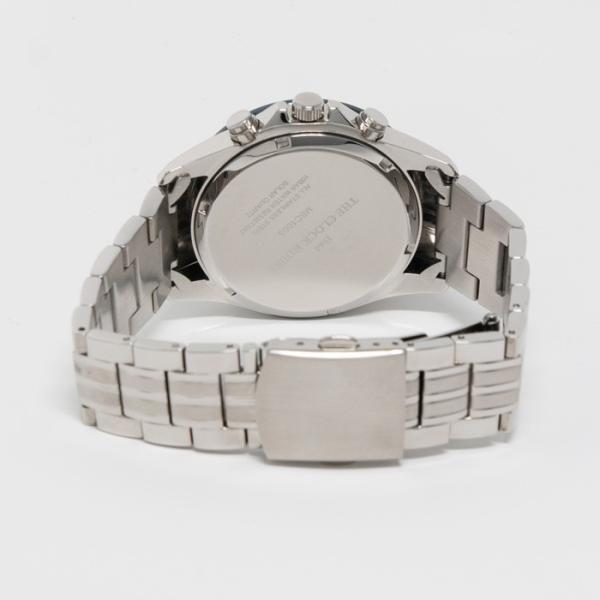 ザ・クロックハウス MBC1003-BK6A ビジネスカジュアル メンズ 腕時計 ソーラー ステンレス ネイビー メタル クロノグラフ ブラック 雑誌掲載|theclockhouse-y|07
