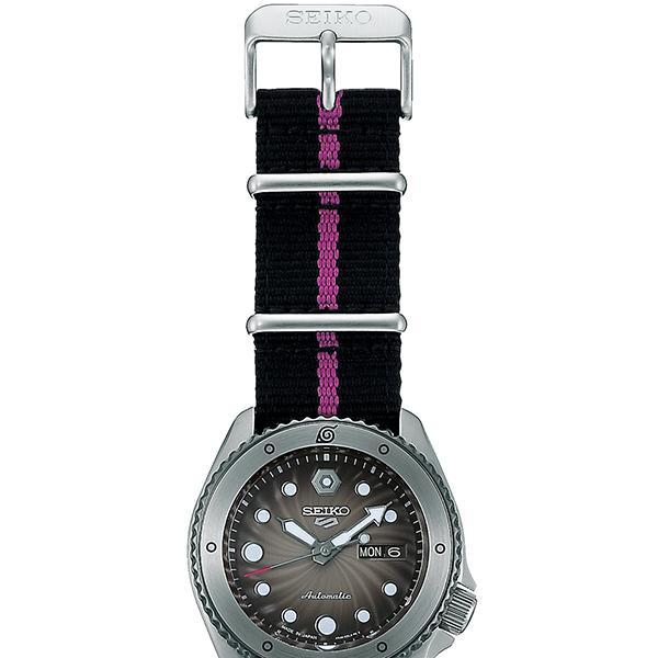 12月11日発売/予約 セイコー 5スポーツ NARUTO & BORUTO ナルト&ボルト コラボレーション 限定 ボルト SBSA087 メンズ 腕時計 メカニカル 日本製 theclockhouse-y 12