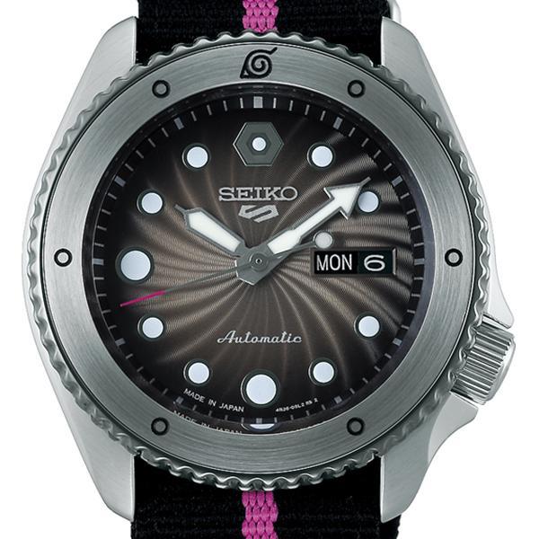 12月11日発売/予約 セイコー 5スポーツ NARUTO & BORUTO ナルト&ボルト コラボレーション 限定 ボルト SBSA087 メンズ 腕時計 メカニカル 日本製 theclockhouse-y 03