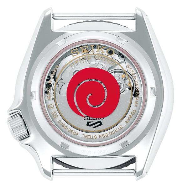 12月11日発売/予約 セイコー 5スポーツ NARUTO & BORUTO ナルト&ボルト コラボレーション 限定 ボルト SBSA087 メンズ 腕時計 メカニカル 日本製 theclockhouse-y 04