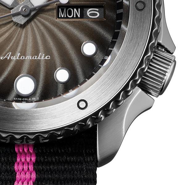 12月11日発売/予約 セイコー 5スポーツ NARUTO & BORUTO ナルト&ボルト コラボレーション 限定 ボルト SBSA087 メンズ 腕時計 メカニカル 日本製 theclockhouse-y 10