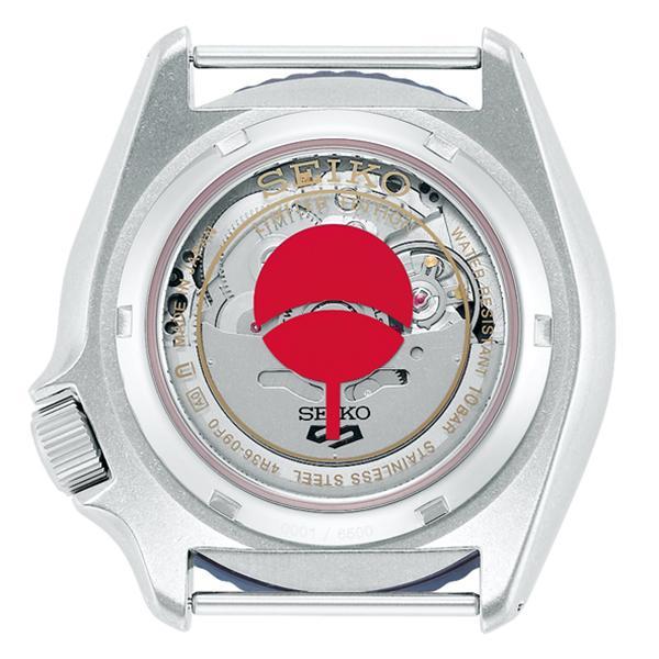 12月11日発売/予約 セイコー 5スポーツ NARUTO & BORUTO ナルト&ボルト コラボレーション 限定 サスケ SBSA091 メンズ 腕時計 メカニカル 日本製 theclockhouse-y 04